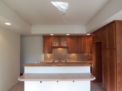 kitchen light soffit